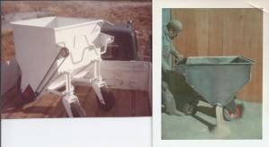 Auger Hopper Hand Crank