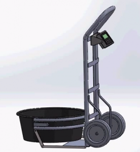 Feed Tub Hand Truck Scale