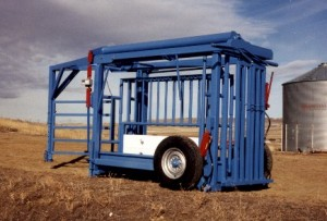Mosdal RockShaft Portable Cattle Scale Trailer